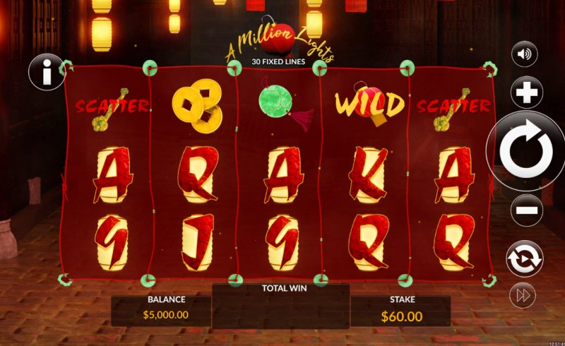 A Million Lights :: Main Game Board
