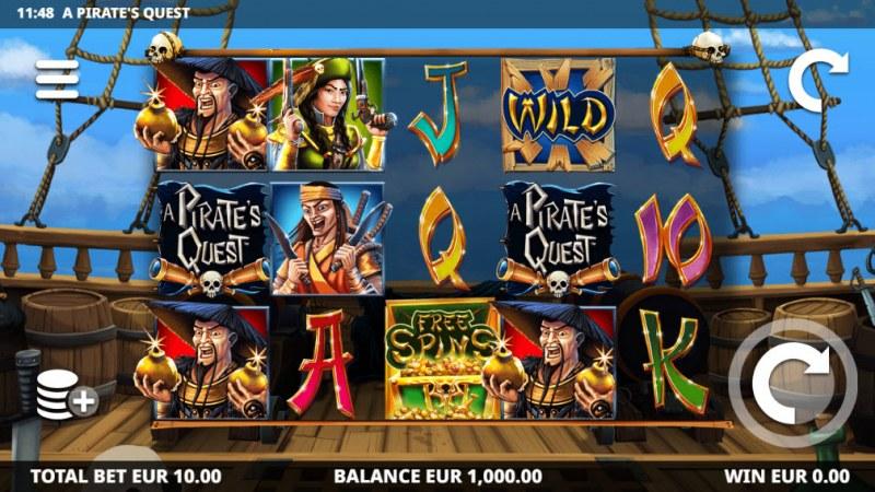 A Pirate's Quest :: Main Game Board