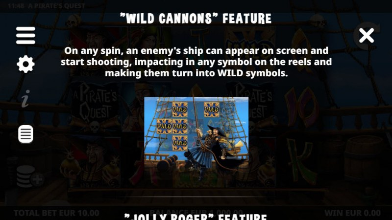 A Pirate's Quest :: Wild Cannons Feature