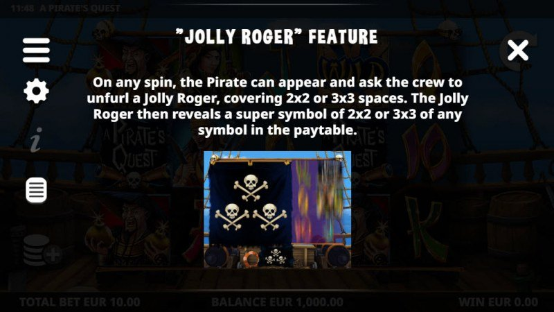 A Pirate's Quest :: Jolly Roger Feature