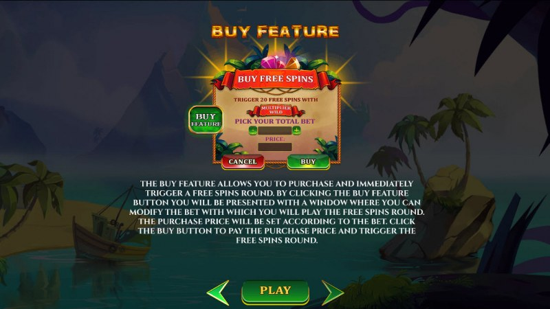 A Pirate's Quest :: Buy Feature