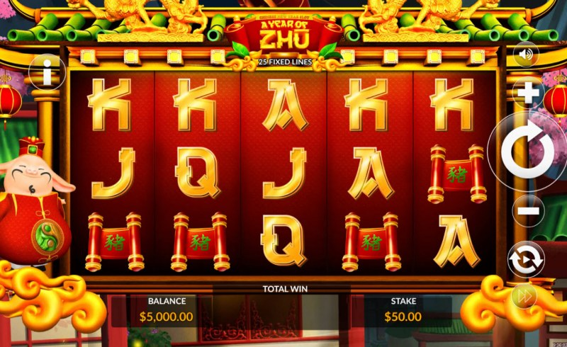 A Year of Zhu :: Main Game Board