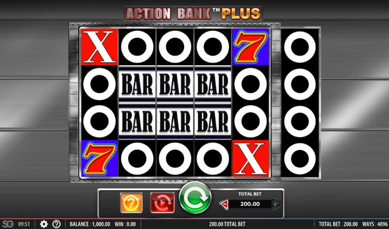 Action Bank Plus :: Main Game Board