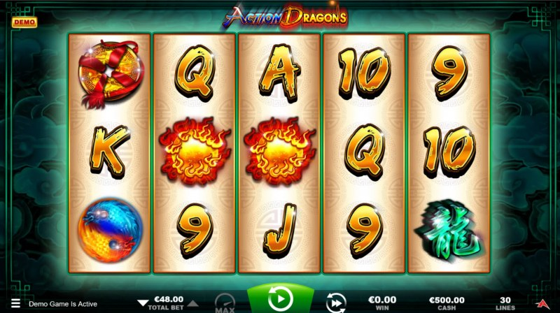 Action Dragons :: Main Game Board