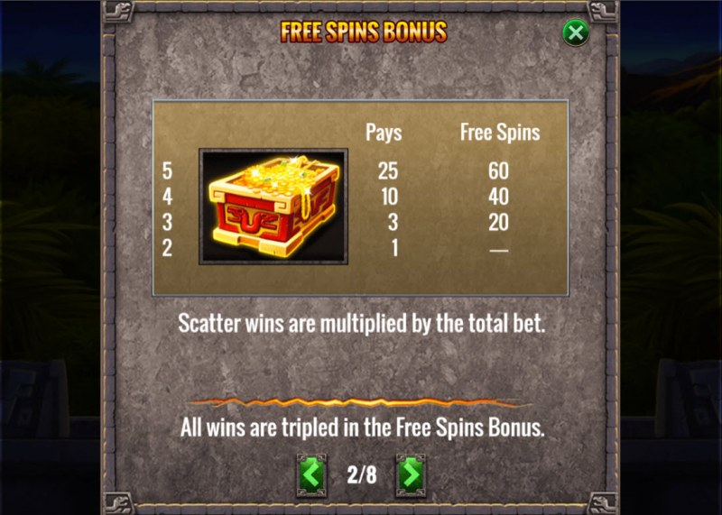 Action Jack :: Scatter Symbol Rules