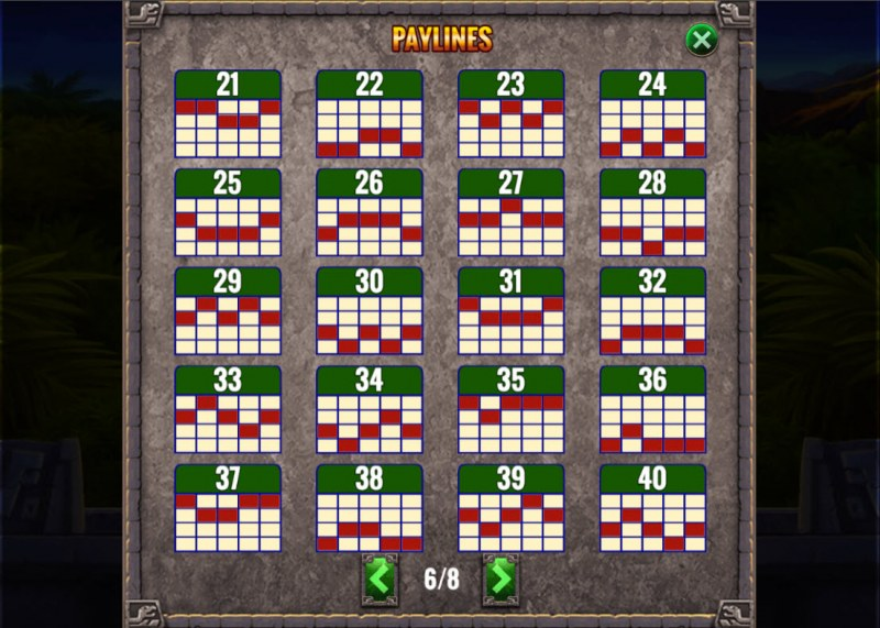 Action Jack :: Paylines 21-40