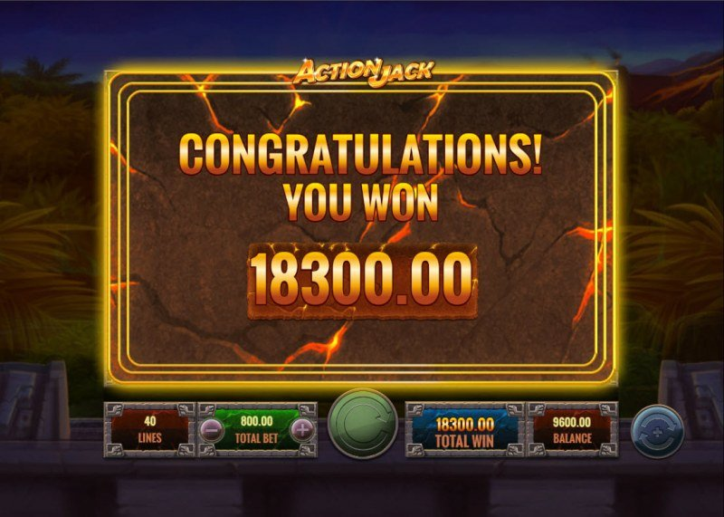 Action Jack :: Total Free Spins Payout
