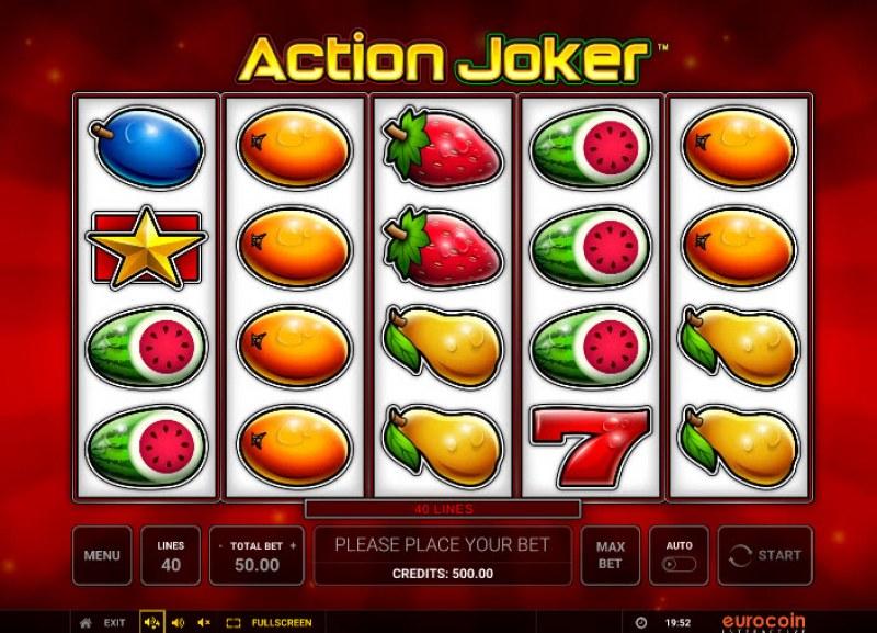 Action Joker :: Main Game Board
