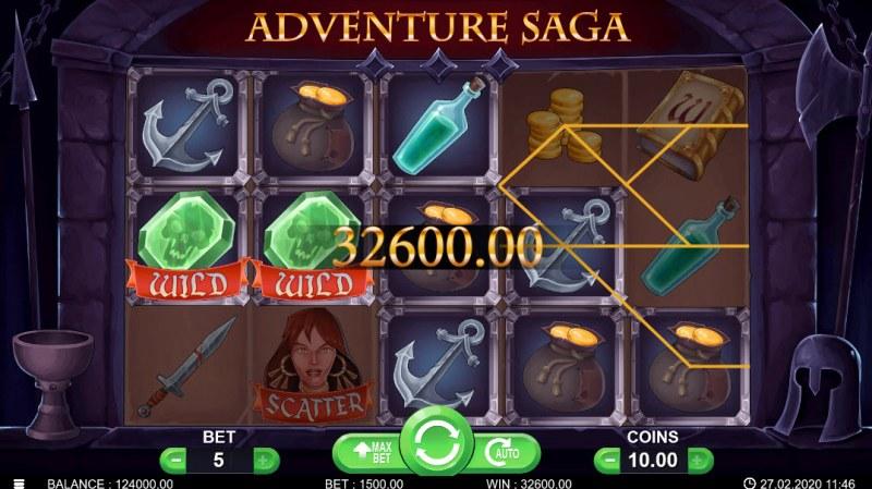 Adventure Saga :: Five of a kind
