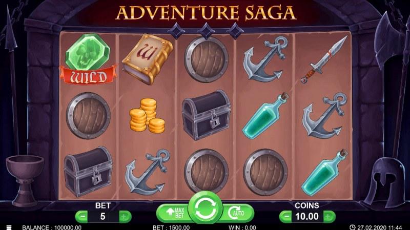 Adventure Saga :: Main Game Board