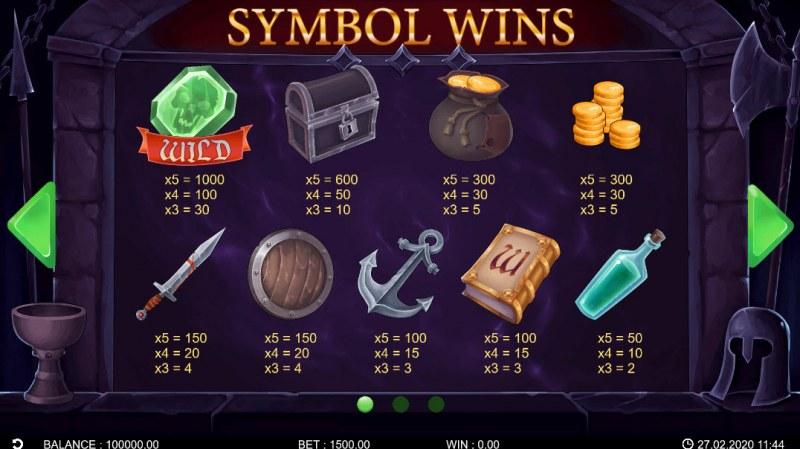 Adventure Saga :: Symbol Wins