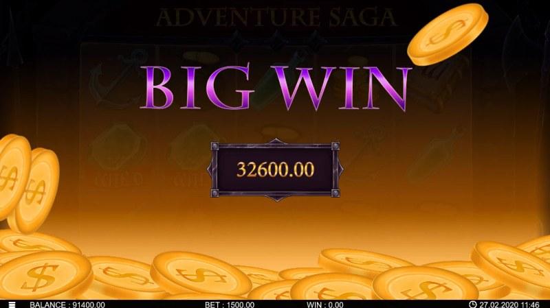 Adventure Saga :: Big Win