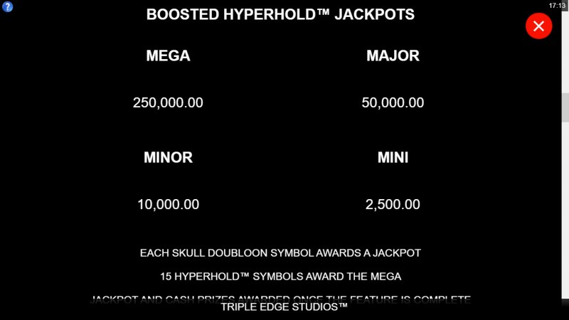 Adventures of Doubloon Island :: Jackpot Rules