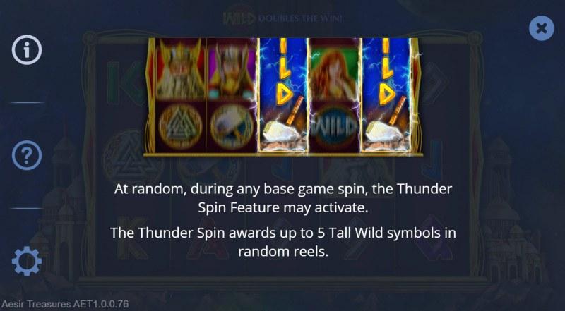 Aesir Treasures :: Feature Rules