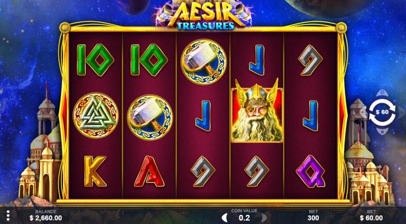 Aesir Treasures :: Main Game Board