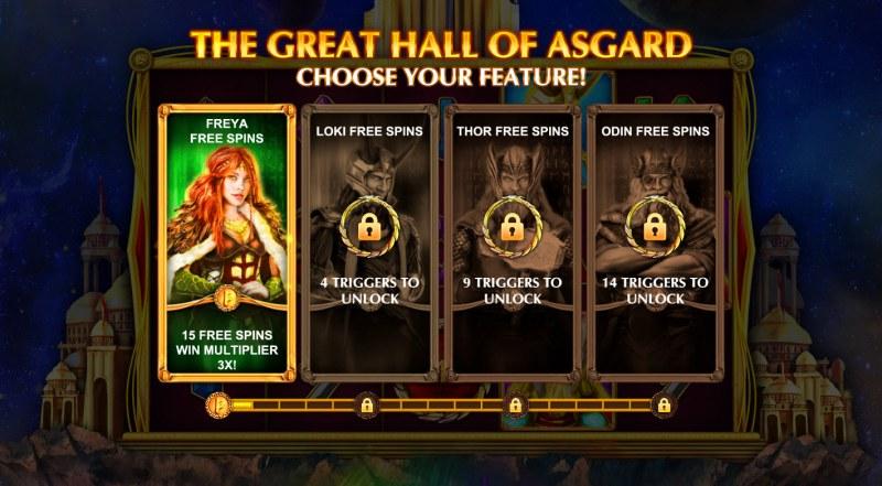 Aesir Treasures :: Choose your feature