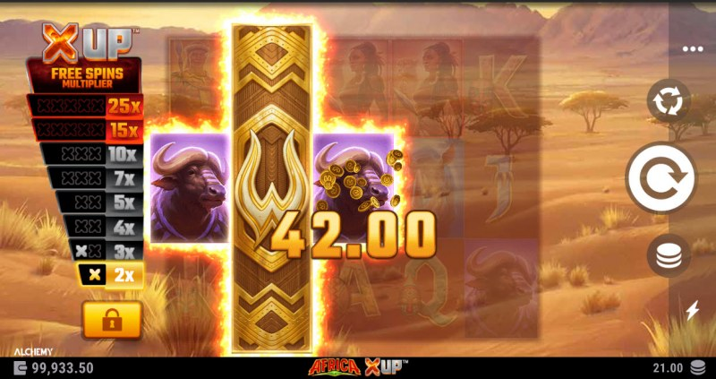 Africa X Up :: Multiple winning combinations