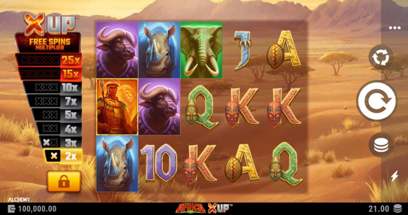 Africa X Up :: Base Game Screen