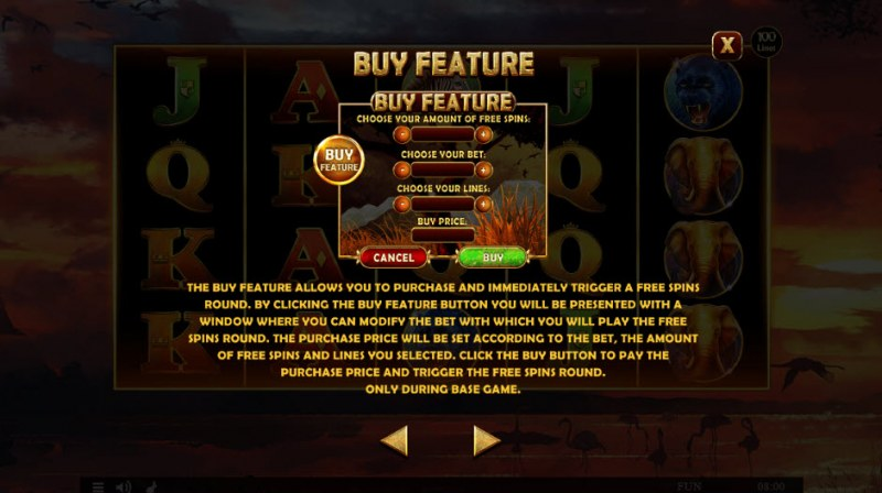 African Fortune :: Buy Feature