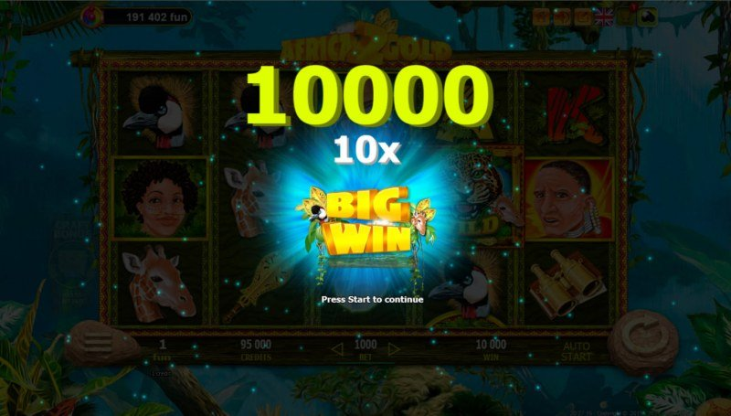 African Gold 2 :: Big Win