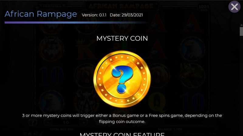 African Rampage :: Mystery Coin