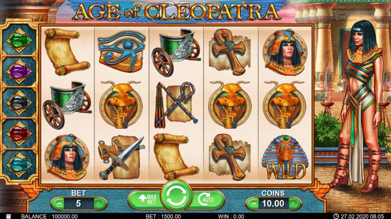 Age of Cleopatra :: Main Game Board