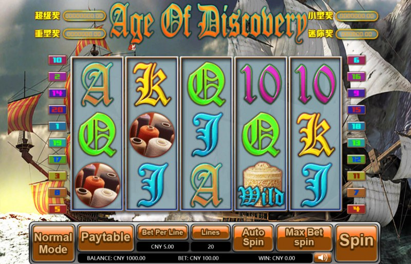 Age of Discovery :: Main Game Board