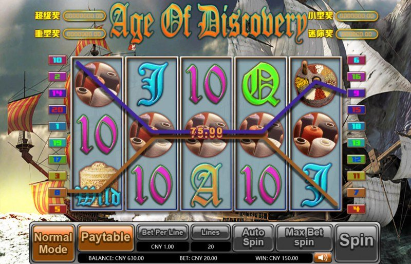 Age of Discovery :: Four of a kind