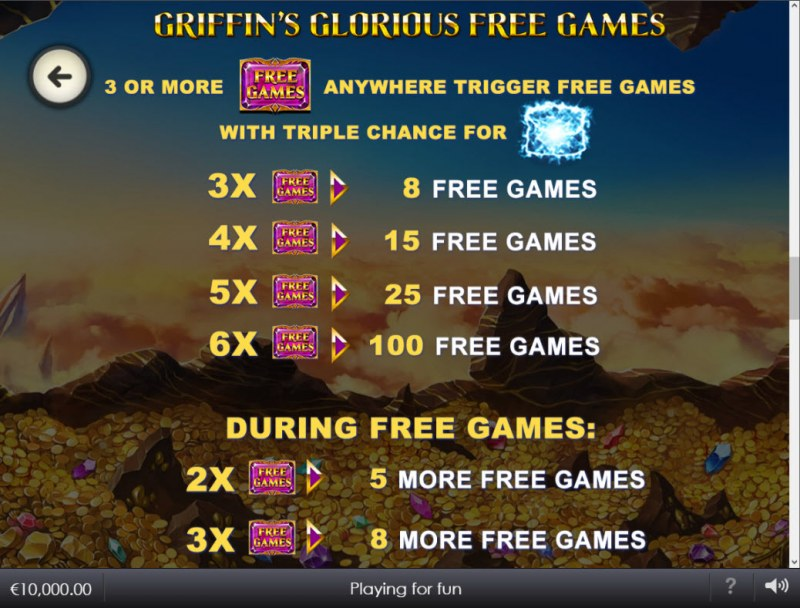 Age of the Gods Glorious Griffin :: Free Game Rules
