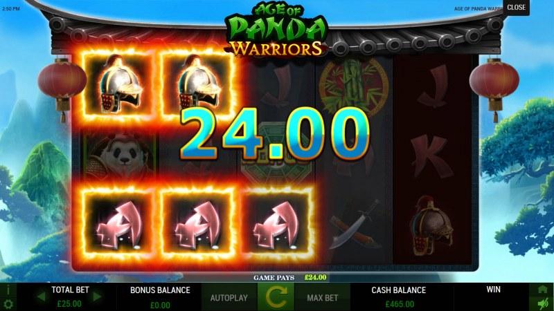 Age of Panda Warriors :: Multiple winning paylines