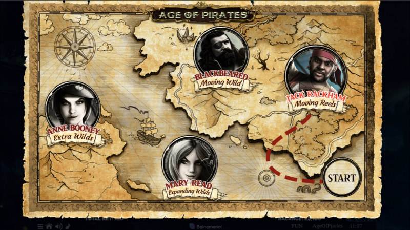 Age of Pirates 15 Lines :: Free Spins Journey