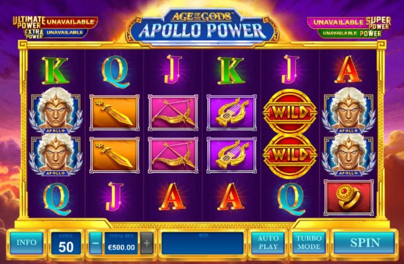 Age of the Gods Apollo Power :: Main Game Board