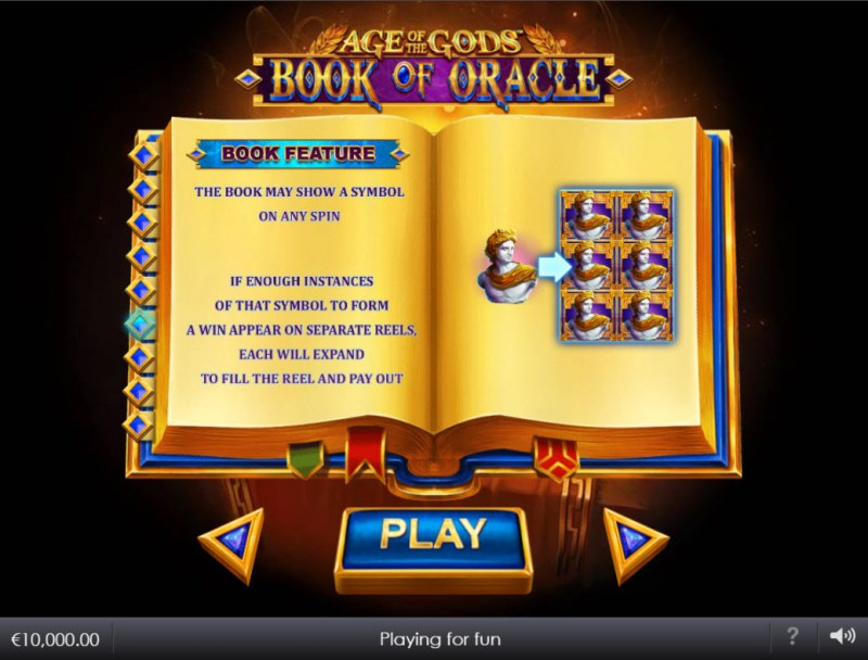 Age of the Gods Book of Oracle :: Book Feature