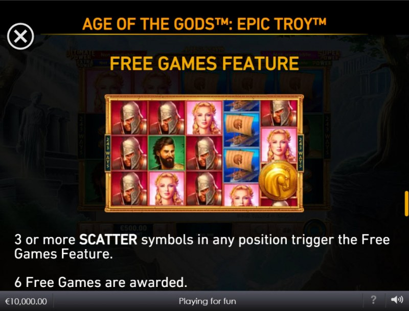 Age of the Gods Epic Troy :: Free Game Rules