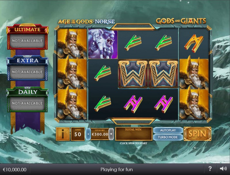 Age of the Gods Norse Gods and Giants :: Main Game Board
