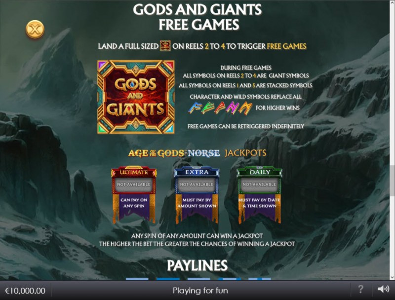 Age of the Gods Norse Gods and Giants :: Free Game Rules
