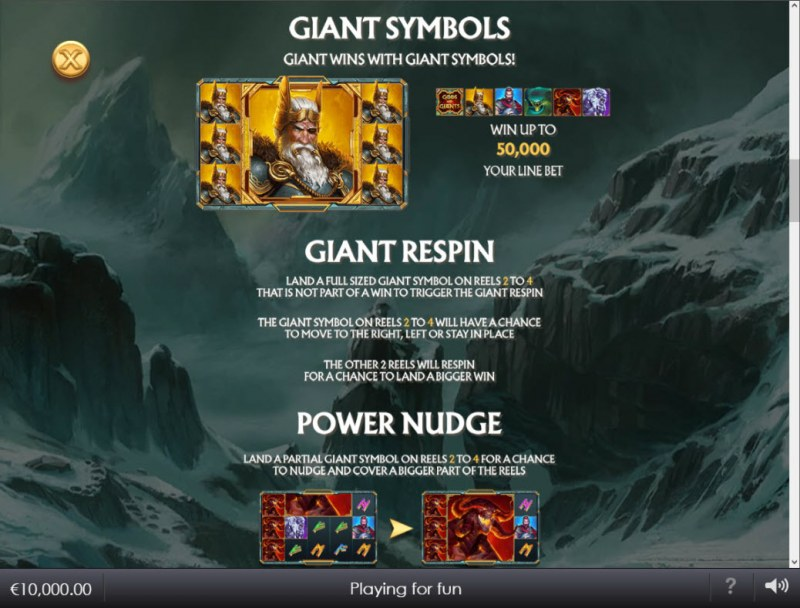 Age of the Gods Norse Gods and Giants :: Feature Rules