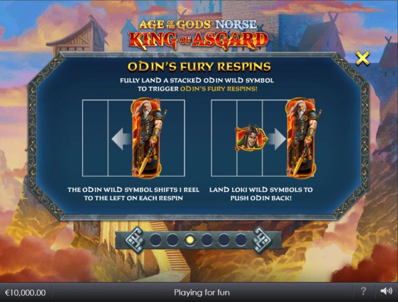 Age of the Gods Norse King of Asgard :: Odin's Fury Respins