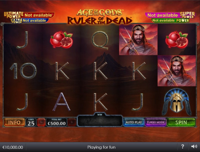 Age of the Gods Ruler of the Dead :: Main Game Board