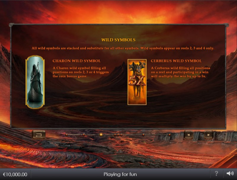 Age of the Gods Ruler of the Dead :: Wild Symbol Rules
