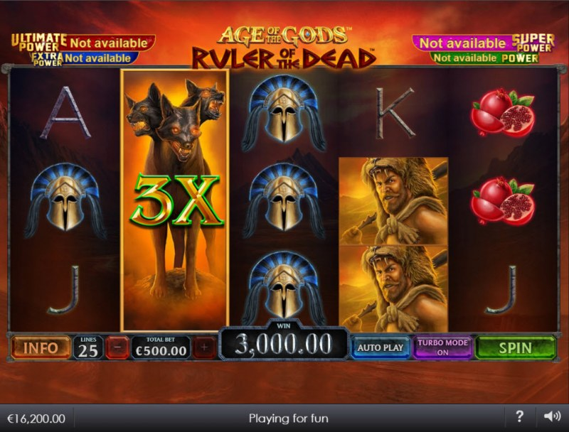 Age of the Gods Ruler of the Dead :: 3X multiplier awarded