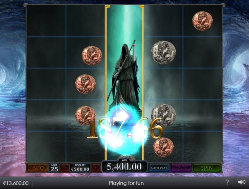 Age of the Gods Ruler of the Dead :: Match coins to win