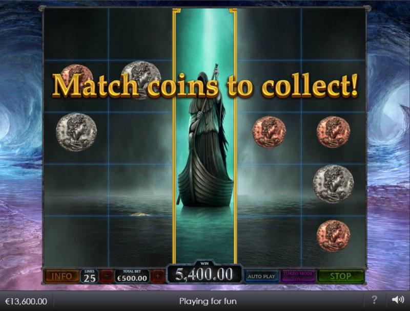 Age of the Gods Ruler of the Dead :: Bonus game board