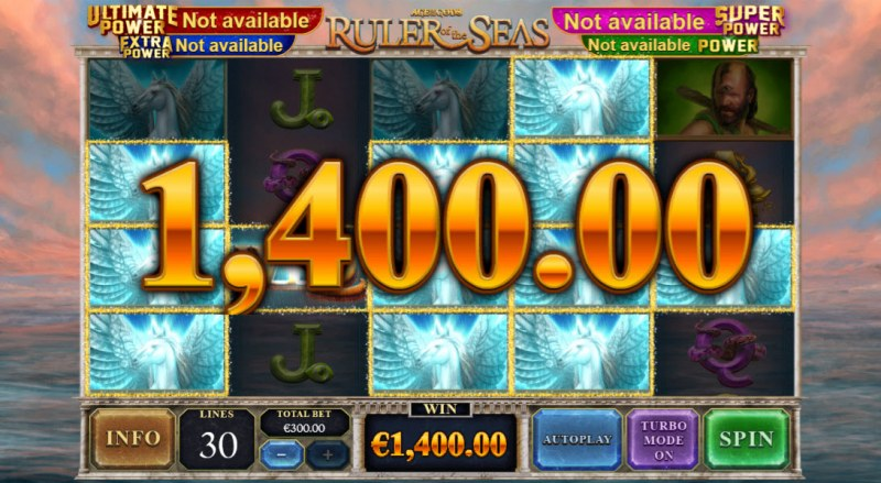 Age of the Gods Ruler of the Seas :: A five of a kind win