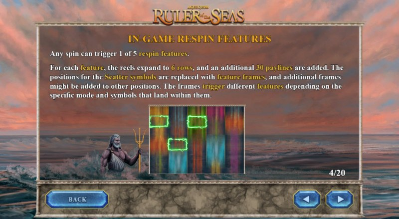 Age of the Gods Ruler of the Seas :: In-Game Respin Features