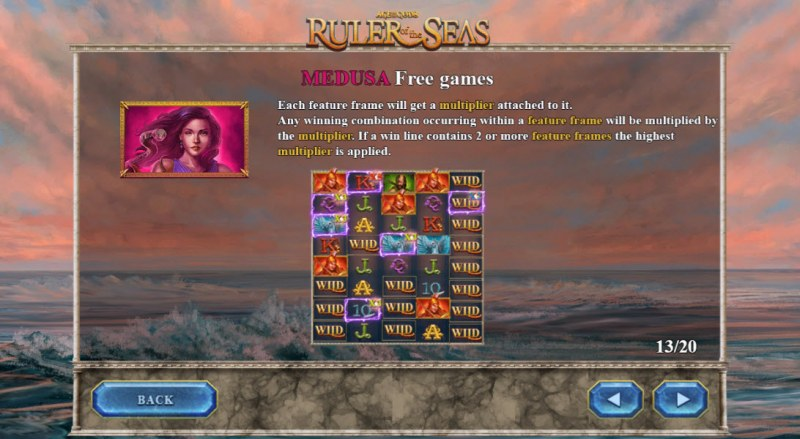 Age of the Gods Ruler of the Seas :: Medusa Free Games