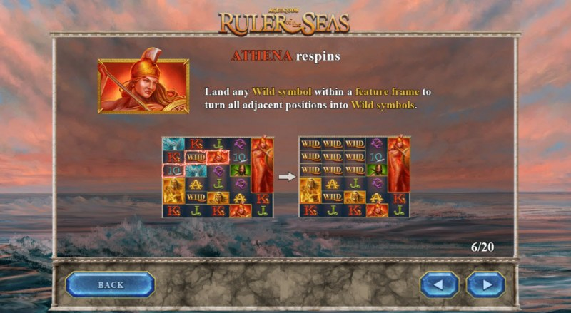 Age of the Gods Ruler of the Seas :: Athena Respin