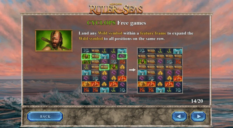 Age of the Gods Ruler of the Seas :: Cyclops Free Games