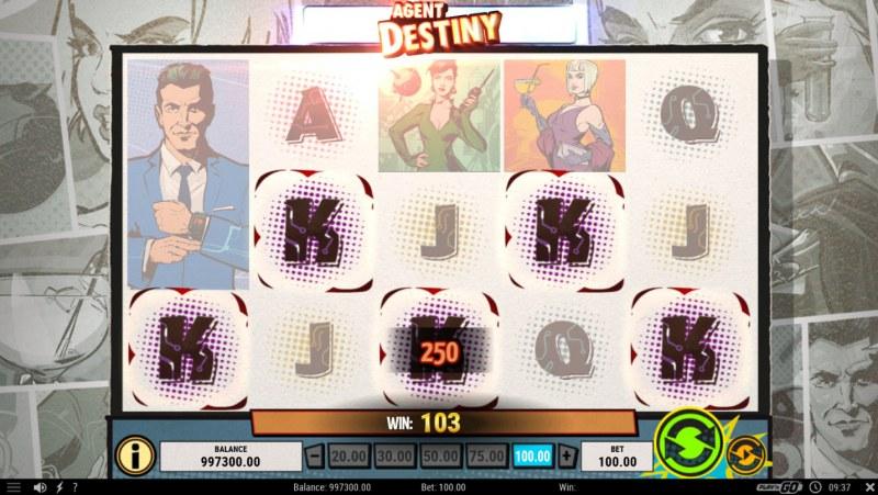 Agent Destiny :: Five of a kind