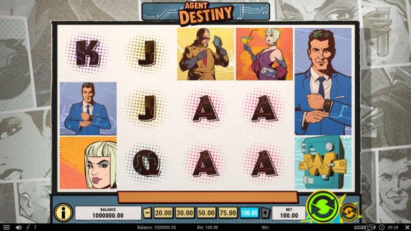 Agent Destiny :: Main Game Board